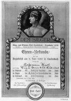 RSC_1928_Gassmann_Urkunde