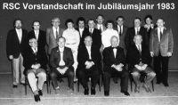 RSC_1983_75Jahre_Vorstandschaft